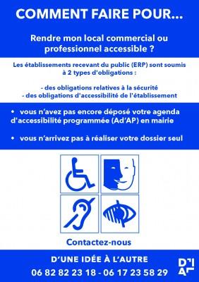 L'accessibilité aux établissements recevant du public (ERP). Mettez-vous aux normes!!